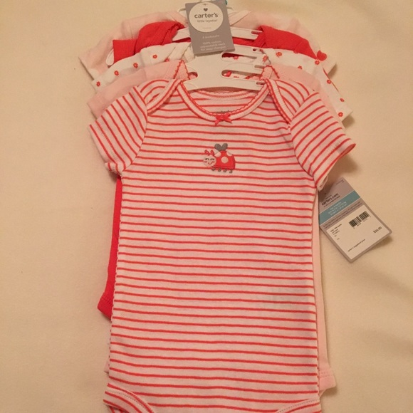 e58be22f7 Carter's One Pieces | 5 Brand New With Tags Carters Onesies | Poshmark